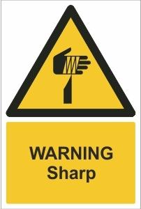 SCH010 - Warning, Sharp