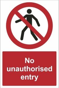 SCH012 - No unauthorised entry
