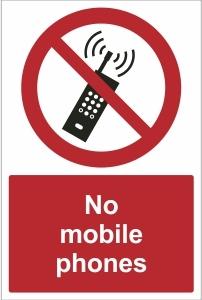 SCH015 - No mobile phones