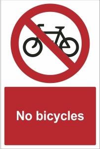 SCH019 - No bicycles