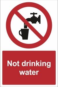 SCH020 - Not drinking water