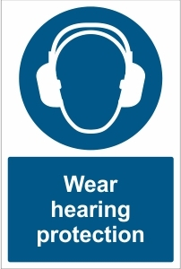 SCH024 - Wear hearing protection
