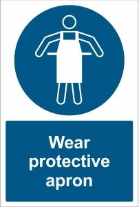 SCH027 - Wear protective apron