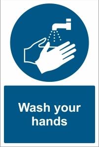 SCH029 - Wash your hands