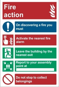 SCH038 - Fire action