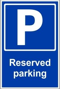 CAR006 - Reserved parking