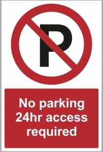CAR014 - No parking. 24hr access required