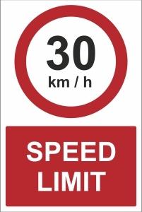 CAR024 - 30kmh speed limit