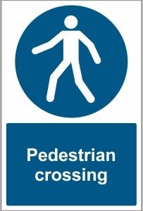 CAR036 - Pedestrian crossing