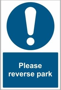 CAR040 - Please reverse park