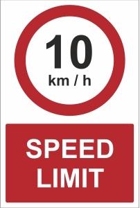 CAR022 - 10kmh speed limit