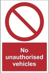 CAR035 - No unauthorised vehicles