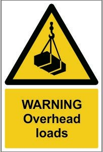 WAR007-Warning-Overhead-loads