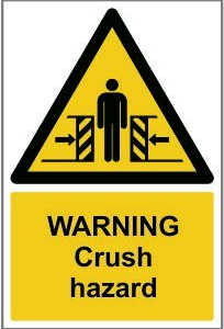WAR008-Warning-Crush-hazard