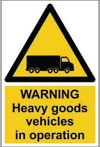 WAR005-Warning-Heavy-goods-vehicles-in-operation