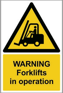 WAR006-Warning-Forklifts-in-operation