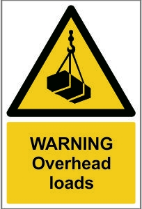WAR007-Warning-Overhead-loads