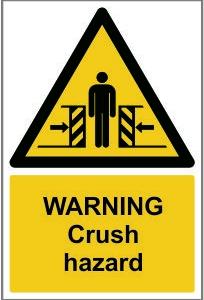 WAR008-Warning-Crush-hazard