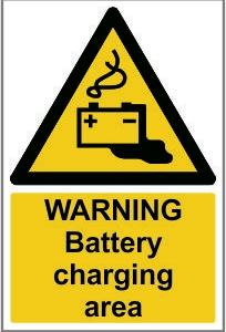 WAR011-Warning-Battery-charging area