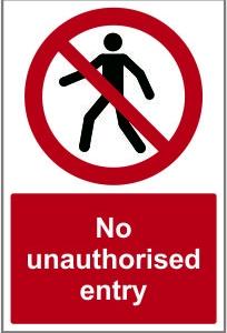 WAR015-No-unauthorised-entry