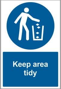 WAR030-Keep-area-tidy
