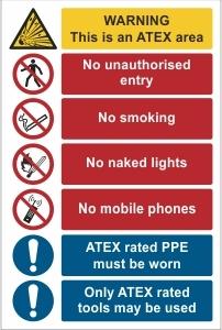 WAT001 - Warning, ATEX safety
