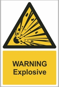 WAT003 - Warning, Explosive