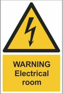 WAT009 - Warning, Electrical room