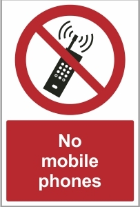 WAT023 - No mobile phones