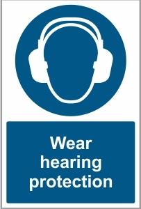 WAT027 - Wear hearing protection