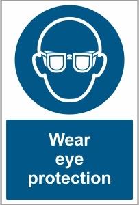 WAT028 - Wear eye protection