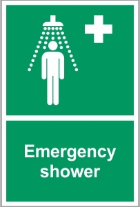 WAT037 - Emergency shower