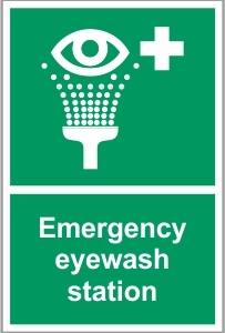 WAT038 - Emergency eyewash station