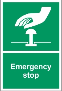 WAT040 - Emergency stop