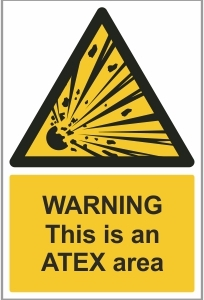 WAT002 - Warning, This is an ATEX area