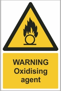 WAT006 - Warning, Oxidising agent
