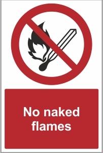 WAT022 - No naked flames