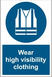 WAT024 - Wear high visibility clothing