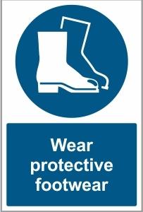 WAT025 - Wear protective footwear