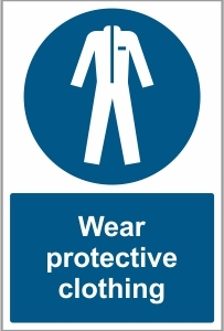 WAT029 - Wear protective clothing