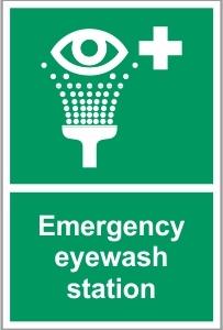 WAT038 - Emergency eyewash station