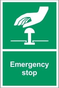WAT040 - Emergency stop
