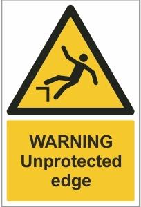 MAR005 - Warning, Unprotected edge