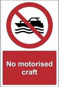 MAR011 - No motorised craft
