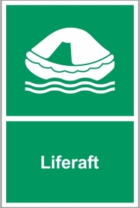 MAR025 - Liferaft