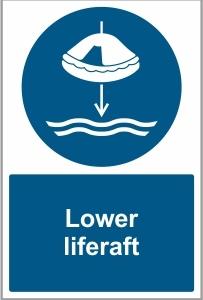 MAR038 - Lower liferaft