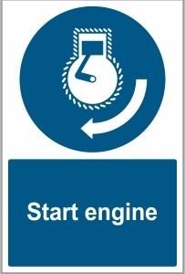 MAR043 - Start engine