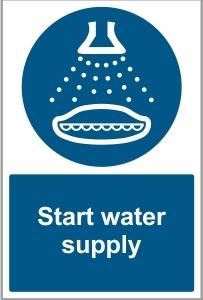 MAR044 - Start water supply