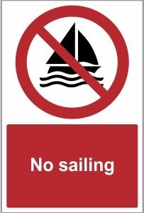 MAR012 - No sailing