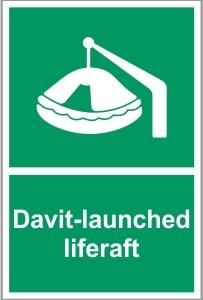 MAR026 - Davit-launched liferaft